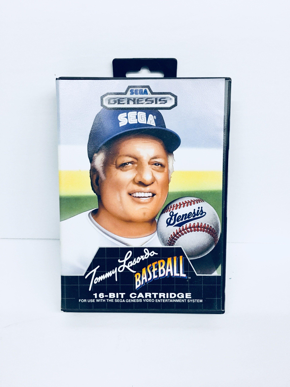Vintage 1989 Tony Lasorda Baseball, Sega Games, Vintage
