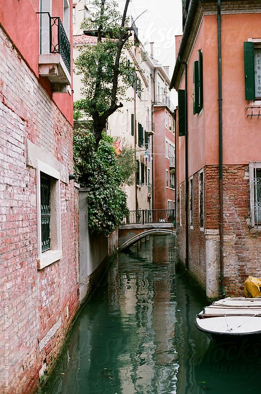 Photo of Canal in Venice, Italy