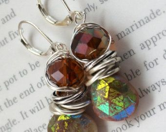 earrings, fire opal earrings, opal earrings, amber earrings, bohemian earrings, leverback earrings,  boho chic earrings, for her