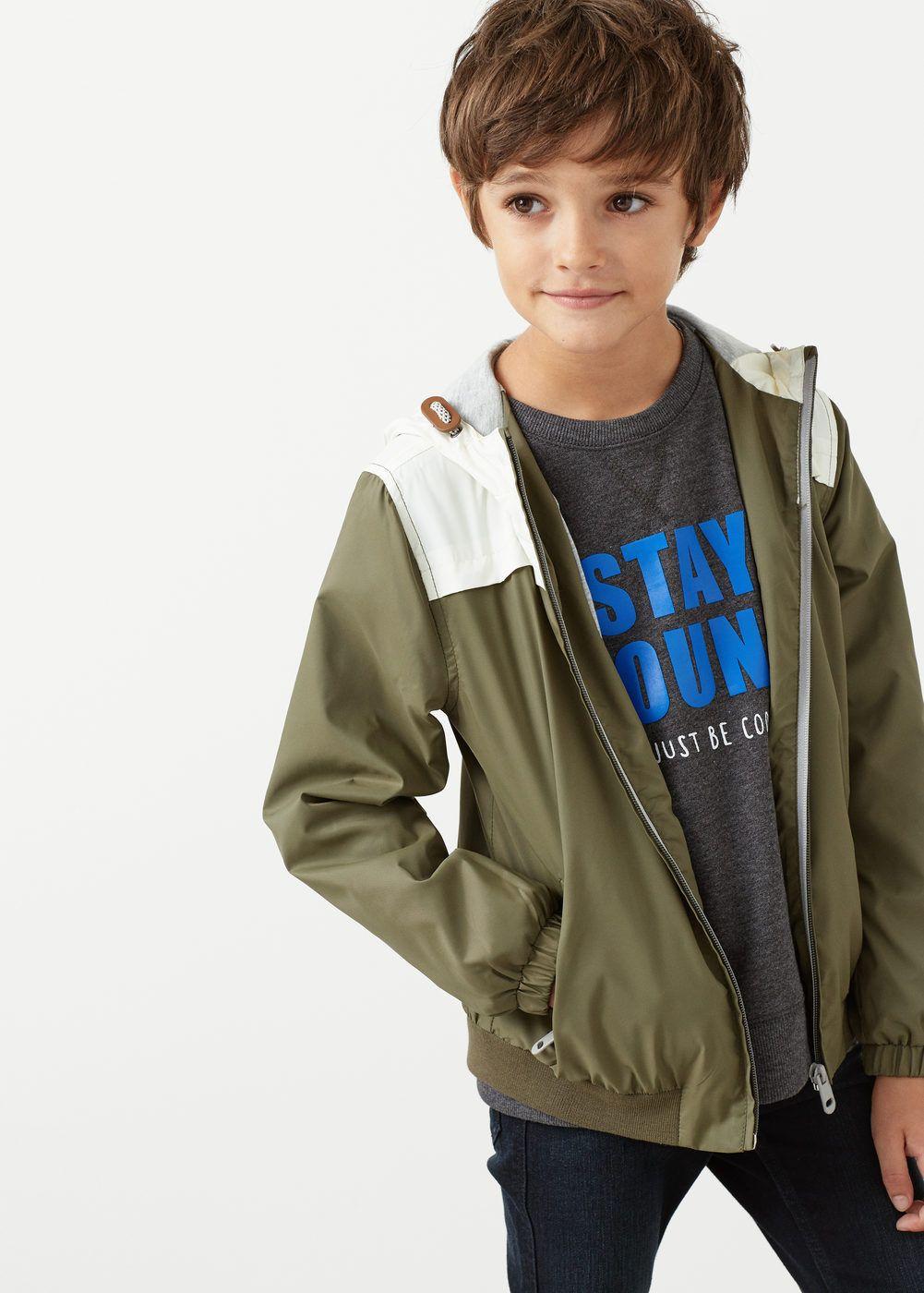 100% de alta calidad bajo costo 50% rebajado Chaqueta panel contraste - Niño   Kids wear   Chaquetas ...