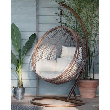Fauteuil Suspendu En Rotin Oeuf Hanging Chair Rattan Hanging Chair Chair