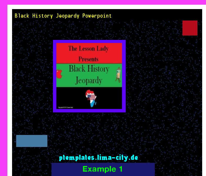 Black History Jeopardy Powerpoint Powerpoint Templates