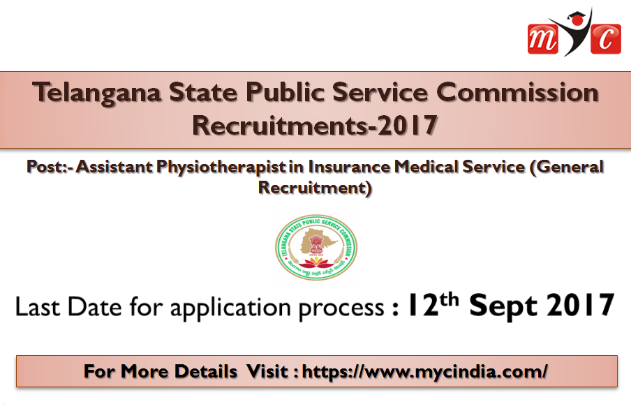 Telangana State Public Service Commission Assistant