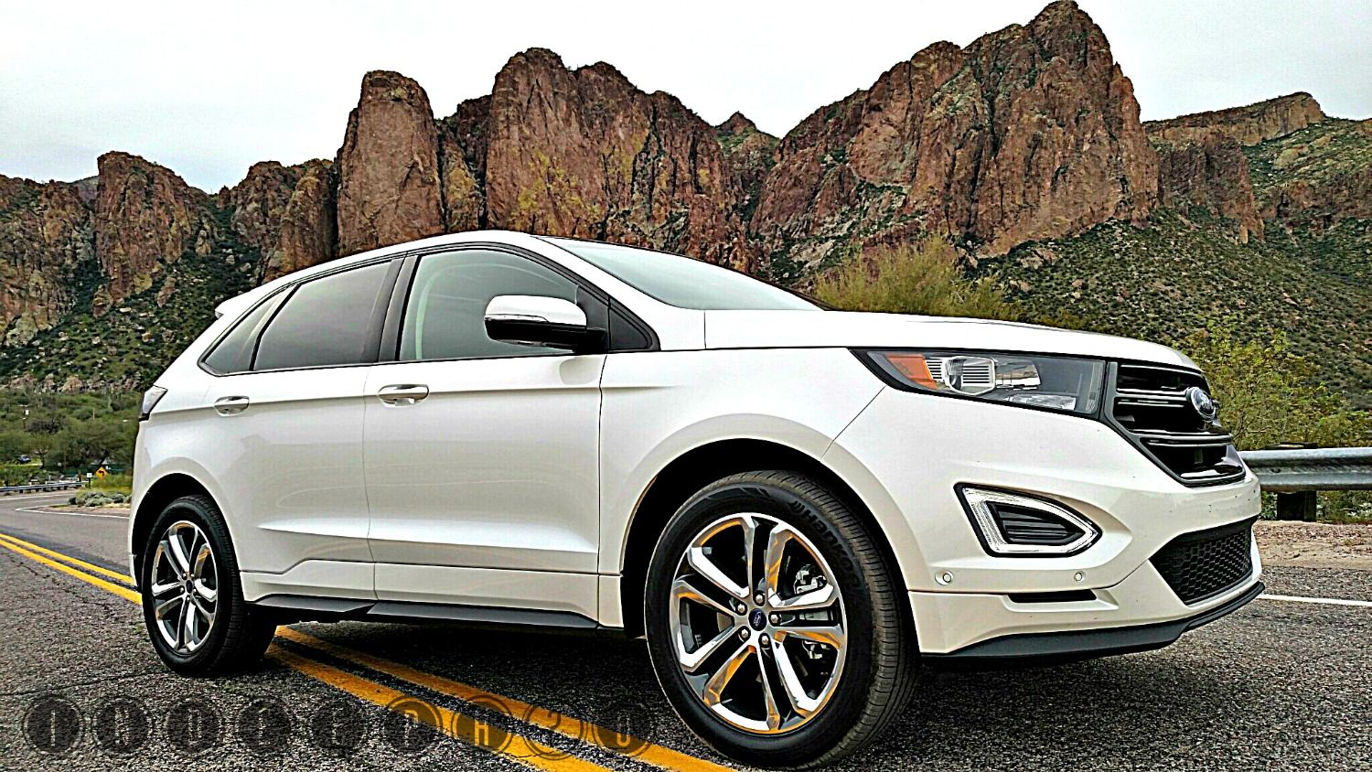 2015 Ford Edge Cranks Up The Heat At W Scottsdale Ford Edge