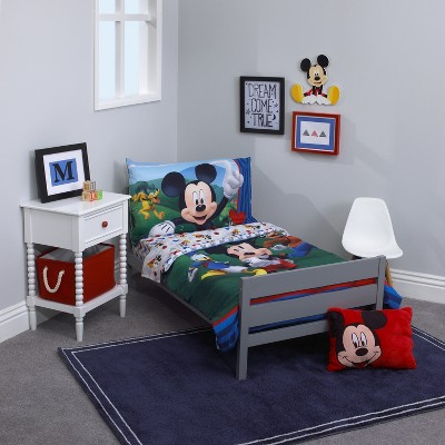 detailed look af926 46cef Mickey Mouse & Friends Mickey Mouse Toddler Bedding Set in ...
