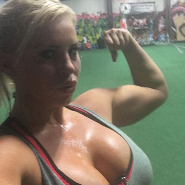 Dana Brooke All Sweaty Danabrooke Wwe Womenofwrestling Women Of