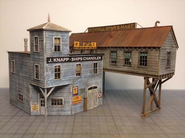 Railroad Line Forums Fos Scale Models Red Hook Wharf