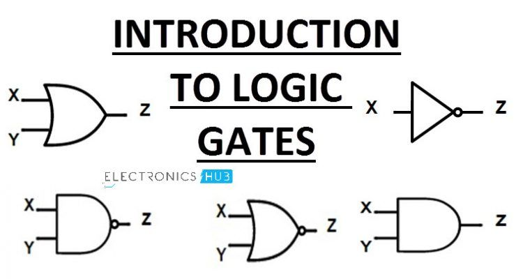 Introduction To Logic Gates Not And Nand Or Nor Logic Digital Circuit Circuit Projects