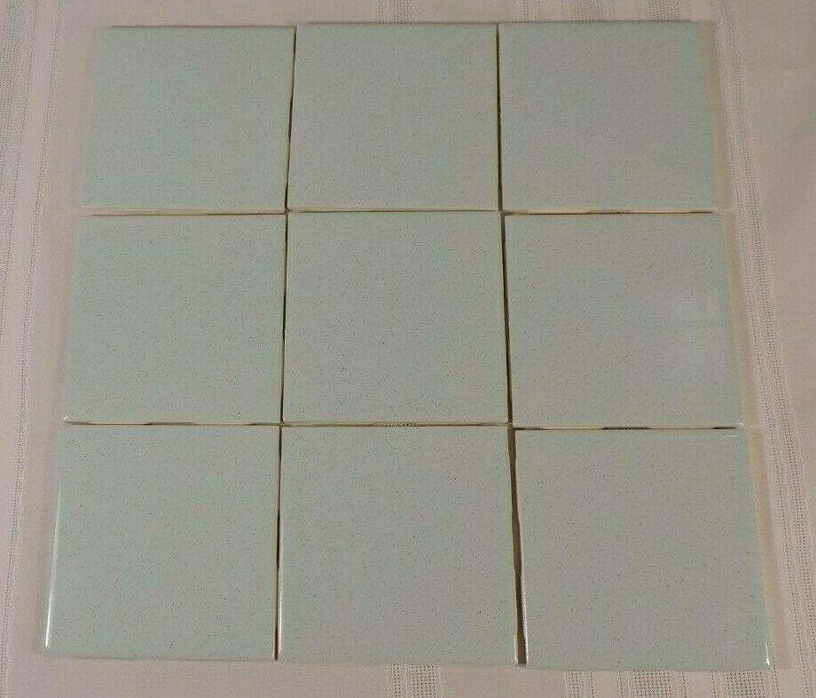 Vintage Blue Speckled Tile Usa Seneca Floor Wall Brand New 9 Pc 1 Sq Ft 4 25 Seneca Vintageretro Tiles Yellow Tile Flooring