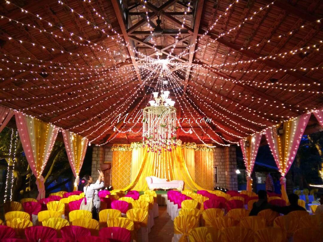 Wedding hall decoration images  Drapes Decorations For Wedding By Melting Floweru  Wedding