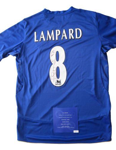 FRANK LAMPARD Hand Signed CHELSEA Centenary Football Shirt size M | eBay  Bid to raise money for SWALLOW Charity, supporting people with learning disabilties  http://www.ebay.co.uk/itm/FRANK-LAMPARD-Hand-Signed-CHELSEA-Centenary-Football-Shirt-size-M-/271523541122?pt=UK_DVD_Film_TV_Autographs_CV&hash=item3f38107082