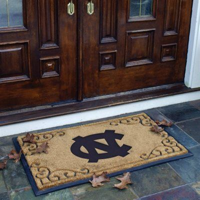 North Carolina Tar Heels Unc 19 5 X 29 5 Coir Door