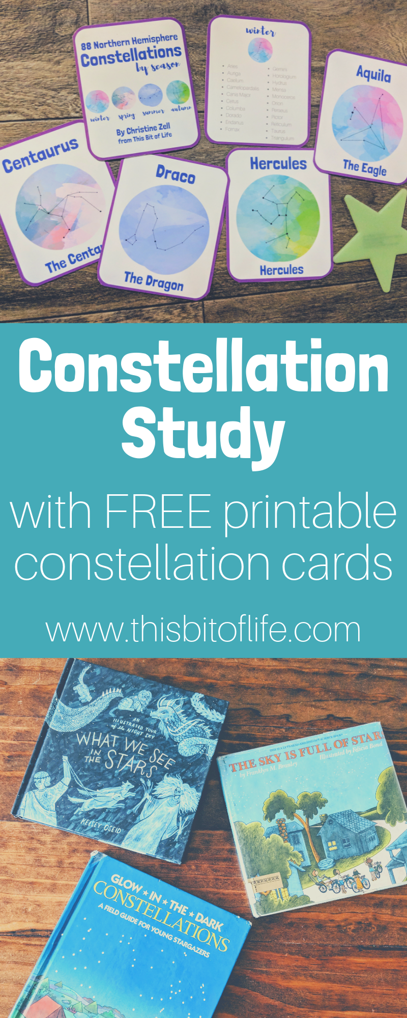 Photo of Free Rabbit Trails Constellation Study and Constellation Cards Printable – This Bit of Life