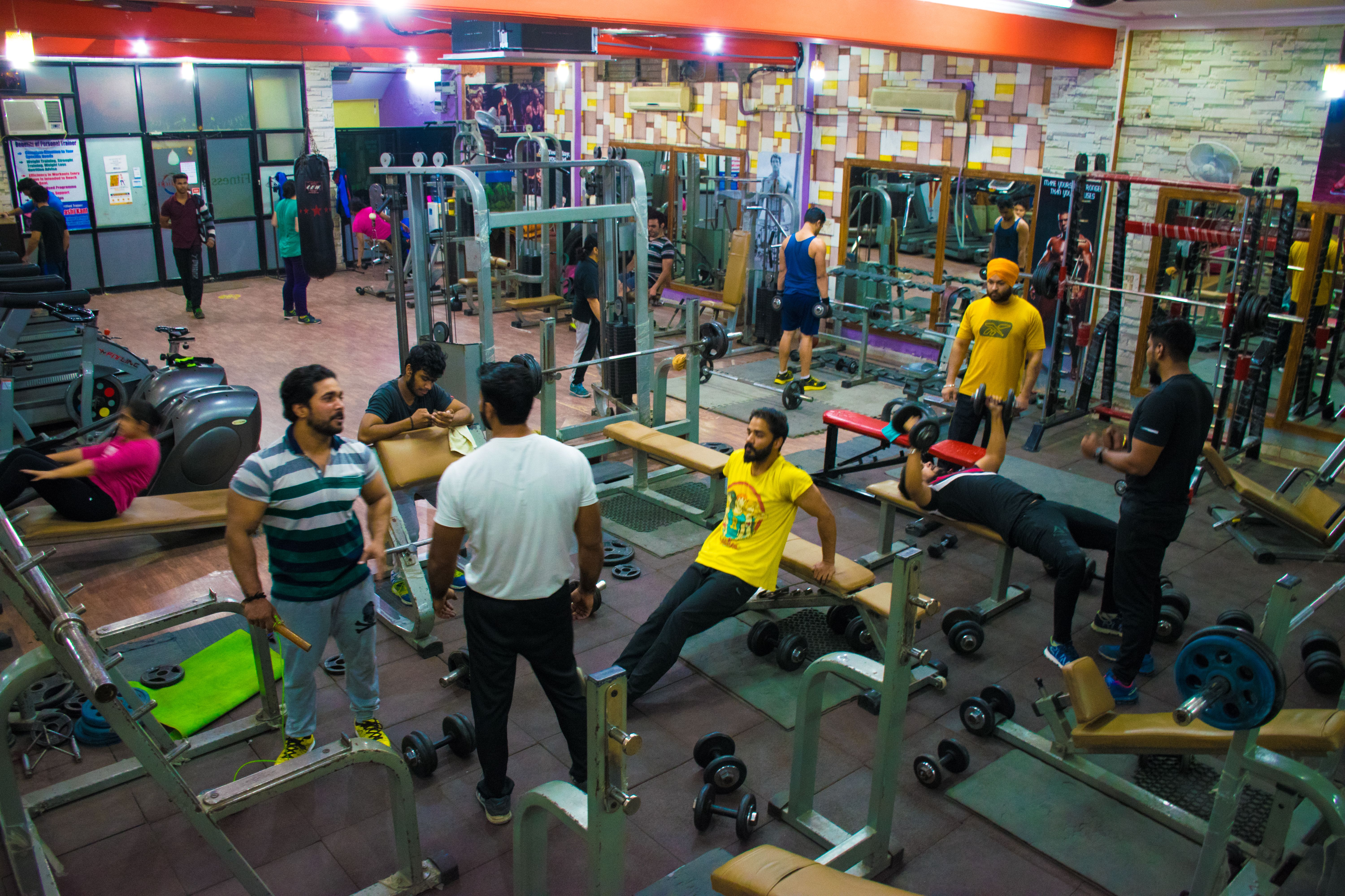 336c240bc21 An insight of one of the best gyms in Rohini  Fitness Revolution ...