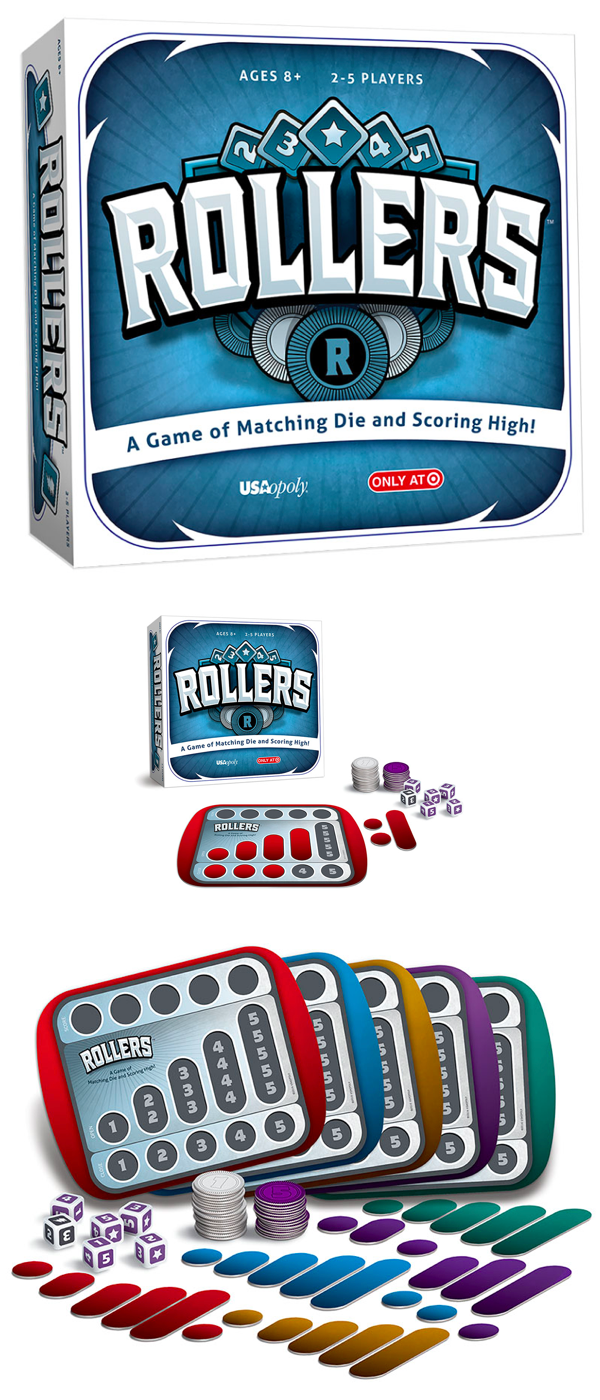 ROLLERS® Deluxe 6 Player Edition Fun board games, Games