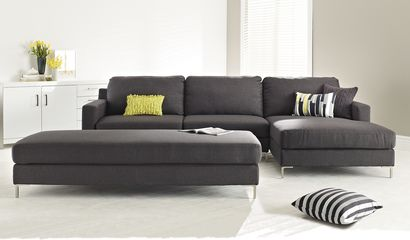 Hq Chaise | Home decor | Lounge couch, Lounge sofa, Couch with ottoman