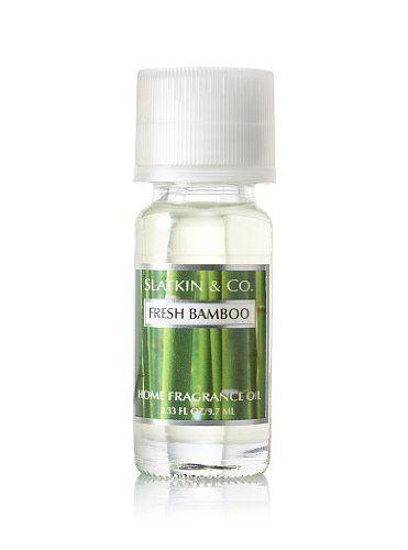 62e79dc1d93cf Slatkin & Co. Fresh Bamboo Home Fragrance Oil .33 oz Bath & Body ...