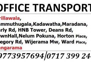 Office Transport Kirillawala Kadawatha To Colombo Transportation