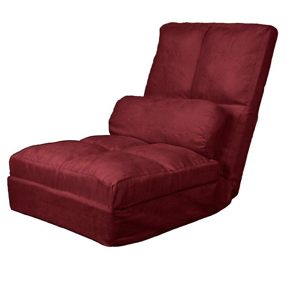 Metro Click Clack Convertible Flip Chair Child Size Sleeper Bed Wine Red Sit N Sleep Burgandian Futonideasnooks