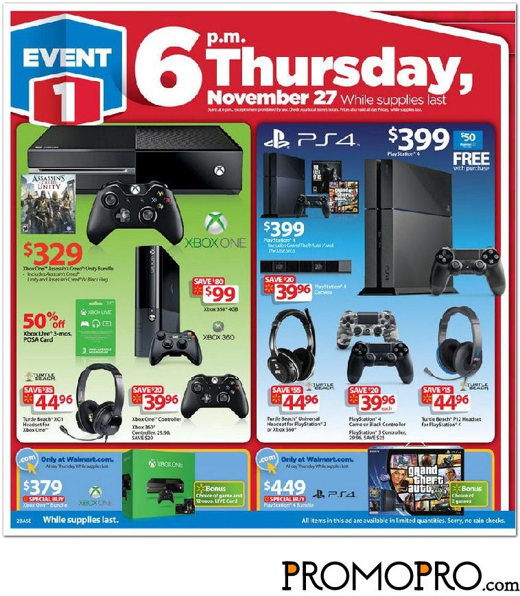 Pin On Walmart Black Friday Ad Scan 2014
