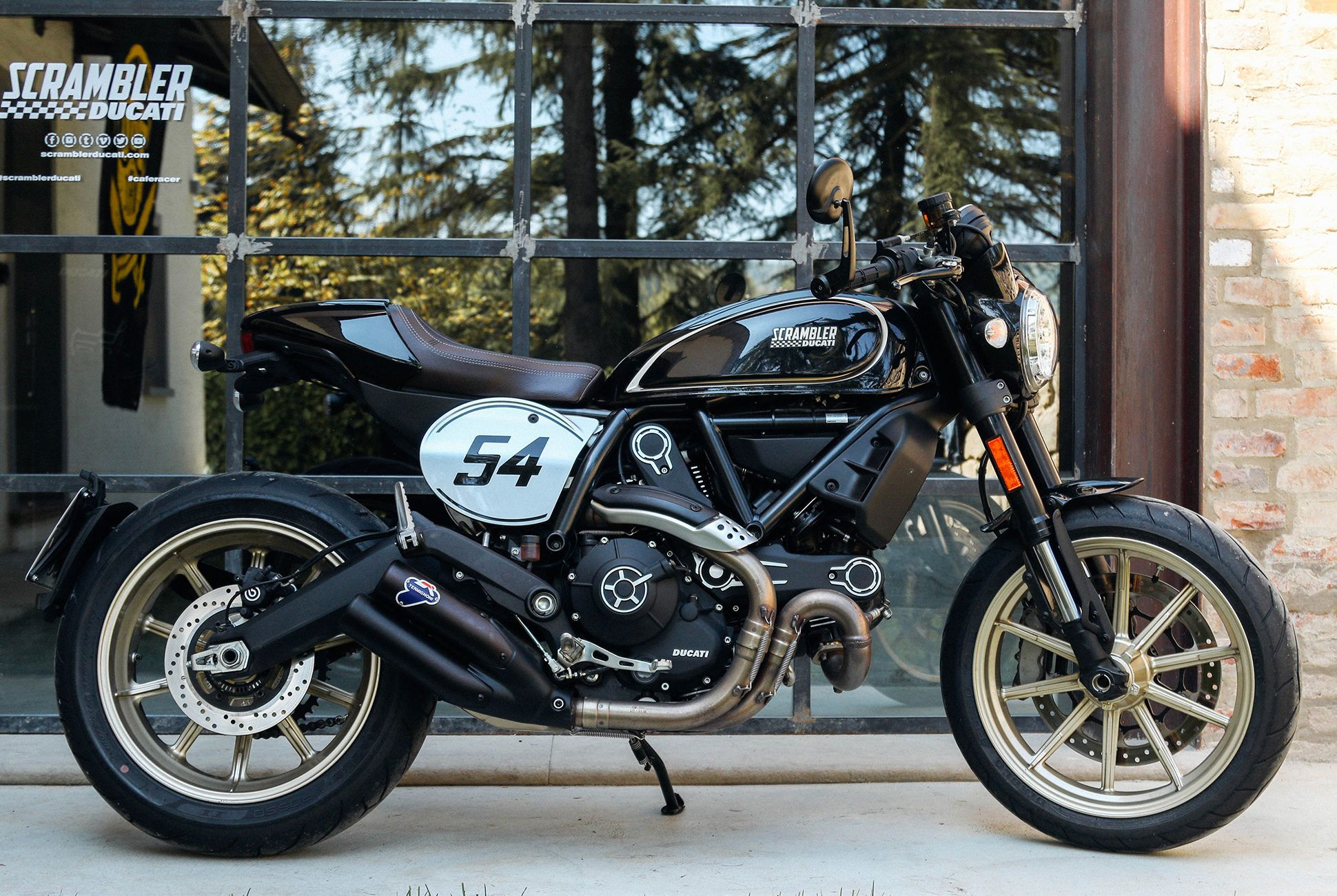 Review Ducatis New Scrambler Cafe Racer Is A A Relative Bargain