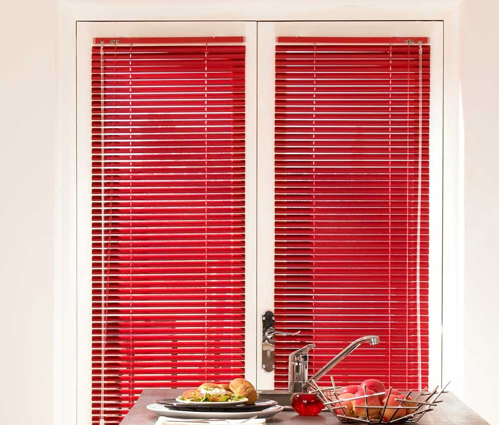 Red Urban Venetian Shade Blinds Decor ideas Pinterest Shades
