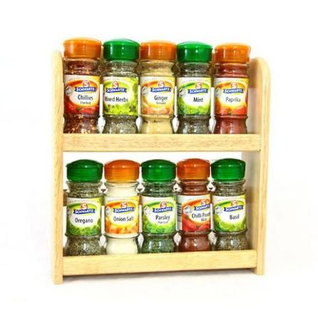 Rubberwood Spice Rack With Spices Dunelm Spice Holder Spice Rack Spices