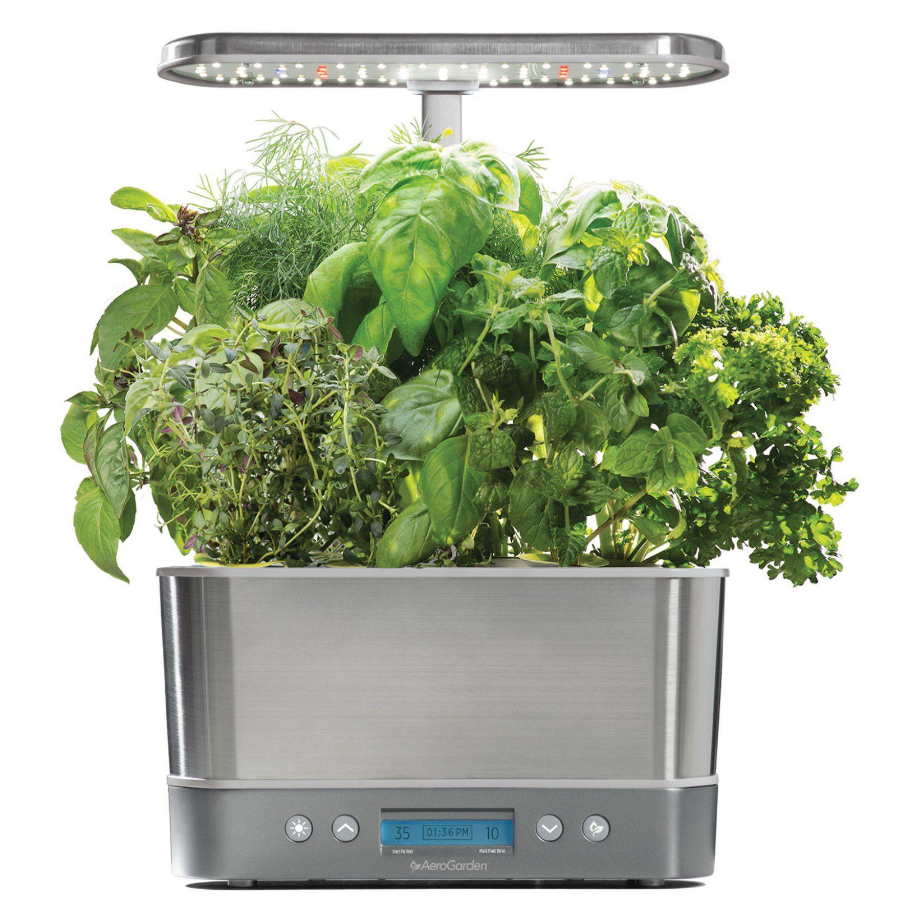 Aerogarden Harvest Elite Hydroponic Garden System Herb 400 x 300