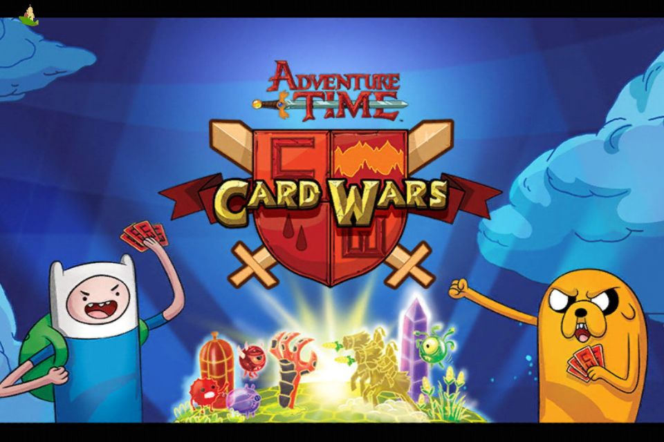 adventure time card wars apk