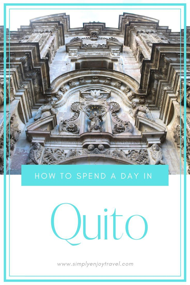 Quito in Ecuador Are you travelling to the Galapagos Islands and stopping for a day to discover Quito in Ecuador Its worth it Here is a list of attractions and sights you...
