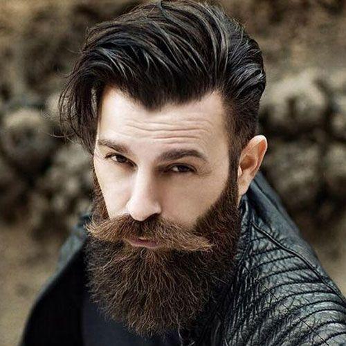 Lange Haare Langer Bart Lange Schnurrbart Beards Mustaches