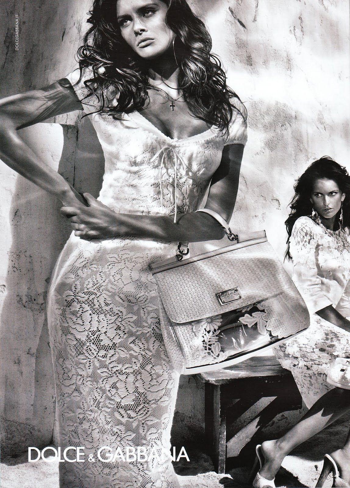 Dolce+%26+Gabbana+Spring+2011+campaign+photo+Steven+Klein+Women+Management+New+York+City+Blog+Izabel+Goulart+3.jpg 1148×1600 pixels
