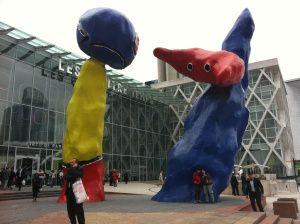 """Joan Miro, """"Sculpture de Joan MIRO,"""" 1978, La Defense, Paris"""