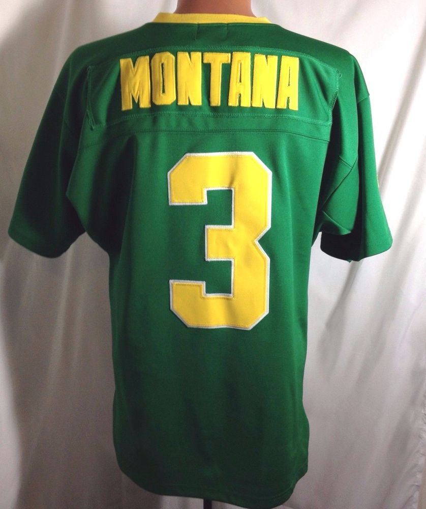 the best attitude 80872 1a338 Joe Montana NOTRE DAME Jersey 1979 Gridiron Greats Football ...