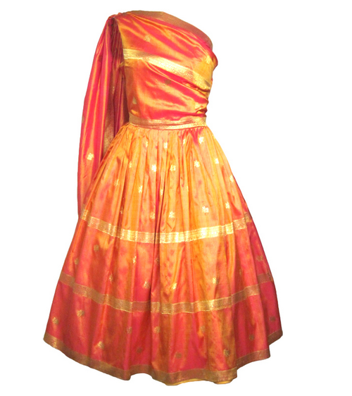 Dress 1950s Sari Inspired Dresses Sari Dress