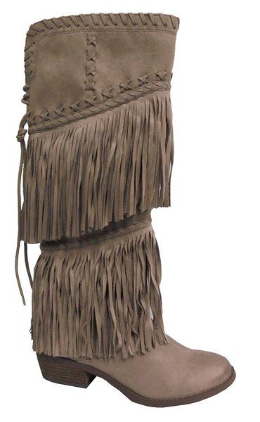 Not Rated Women S G Funk Chelsea Boot Taupe 9 M Us Boots Chelsea Boots Fringe Boots