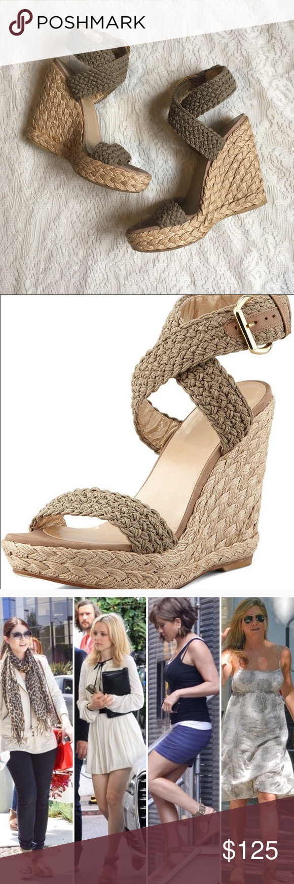 bdf247af0fa3 Stuart Weitzman Alex ankle strap espadrille This show is stunningly  beautiful! Highly loved and worn