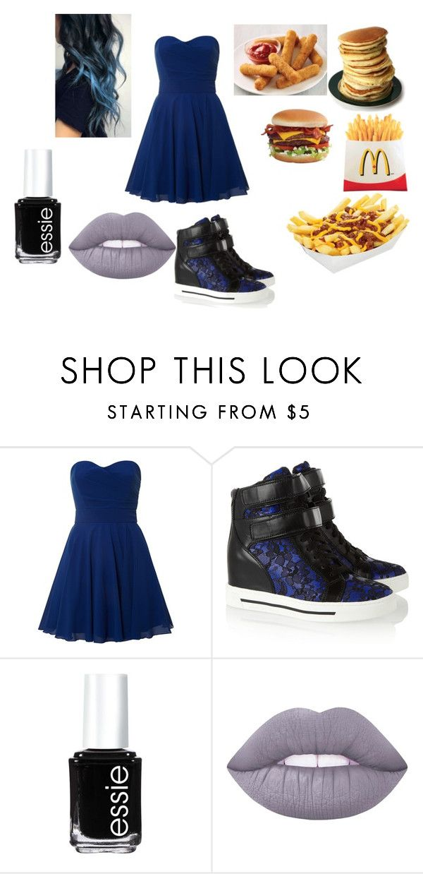 """""""Untitled #590"""" by pooka515 on Polyvore featuring TFNC, Marc by Marc Jacobs, Essie and Lime Crime"""