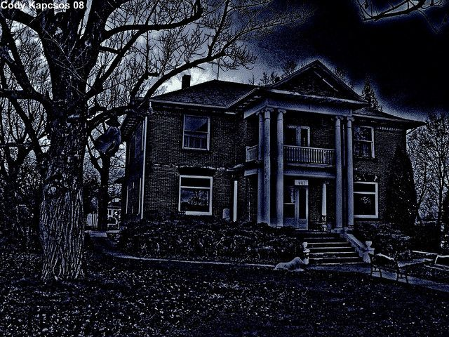 Stirling's Haunted Mansion!