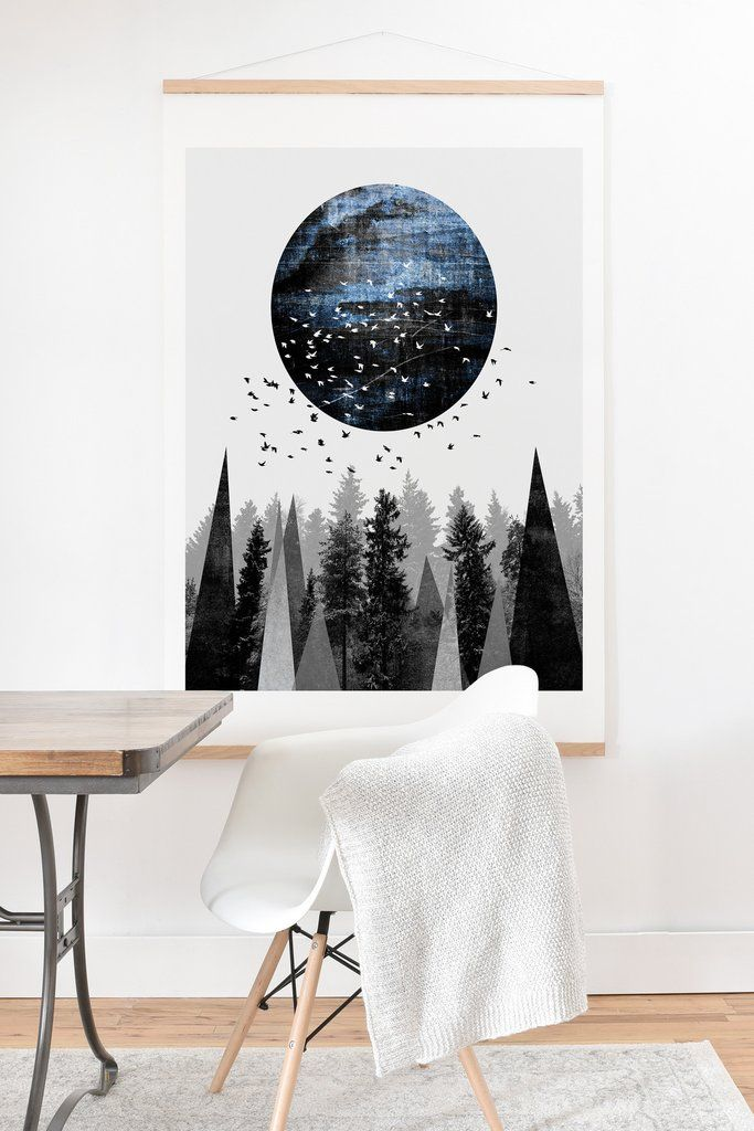 Elisabeth Fredriksson Nature Art Print And Hanger | DENY Designs Home Accessories