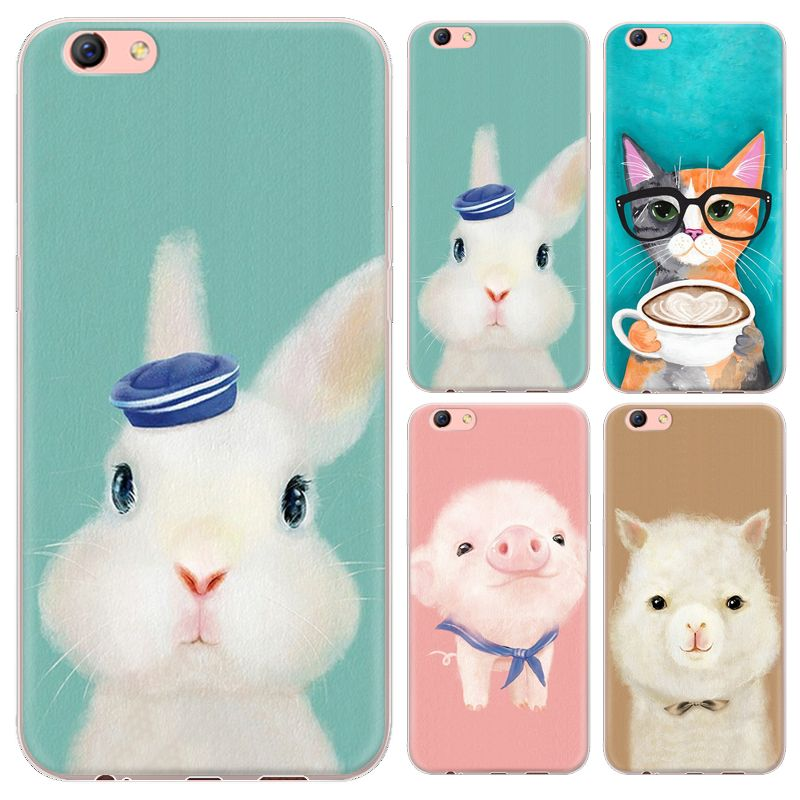 Warm Color Animals Series Phone Case For Oppo R9S 5.5-inch / Oppo R9S Plus 6-inch Painted TPU Soft Case