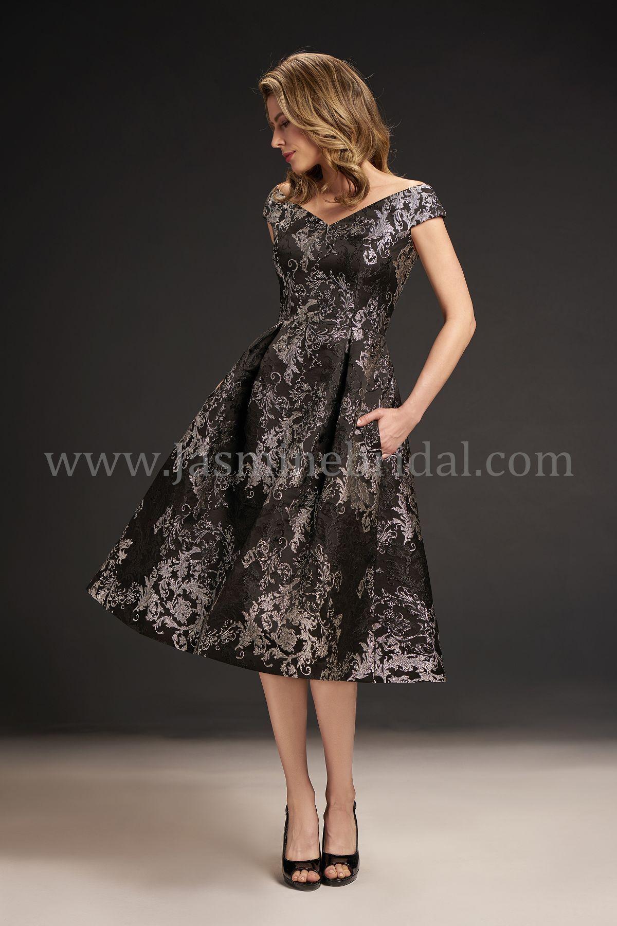Jasmine Bridal Black Label Style M190065 in Black