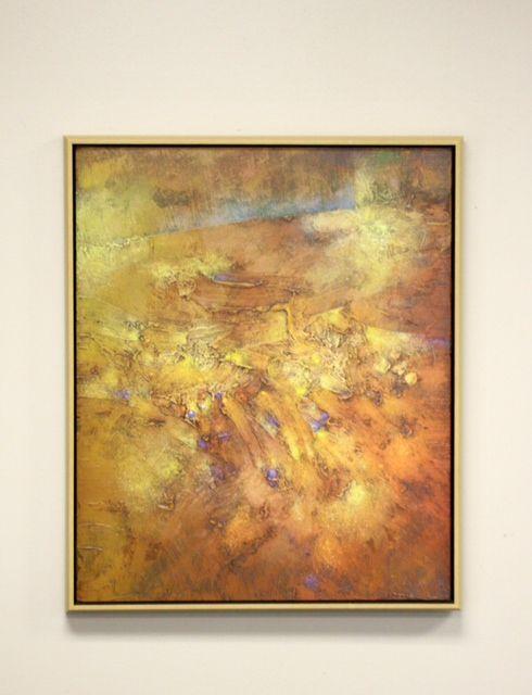 Gold leaf floater frame | Art | Pinterest