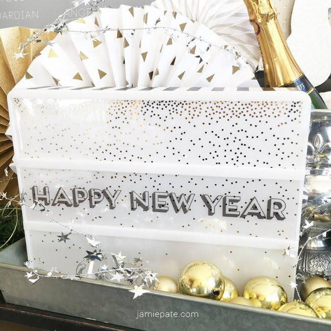 happy new year (With images) | Light box quotes, Heidi ...