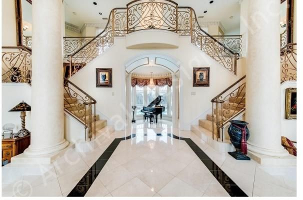 Lochinvar House Plan Www Archivaldesigns Com Grand Staircase Luxury House Plans Luxury Floor Plans House Blueprints
