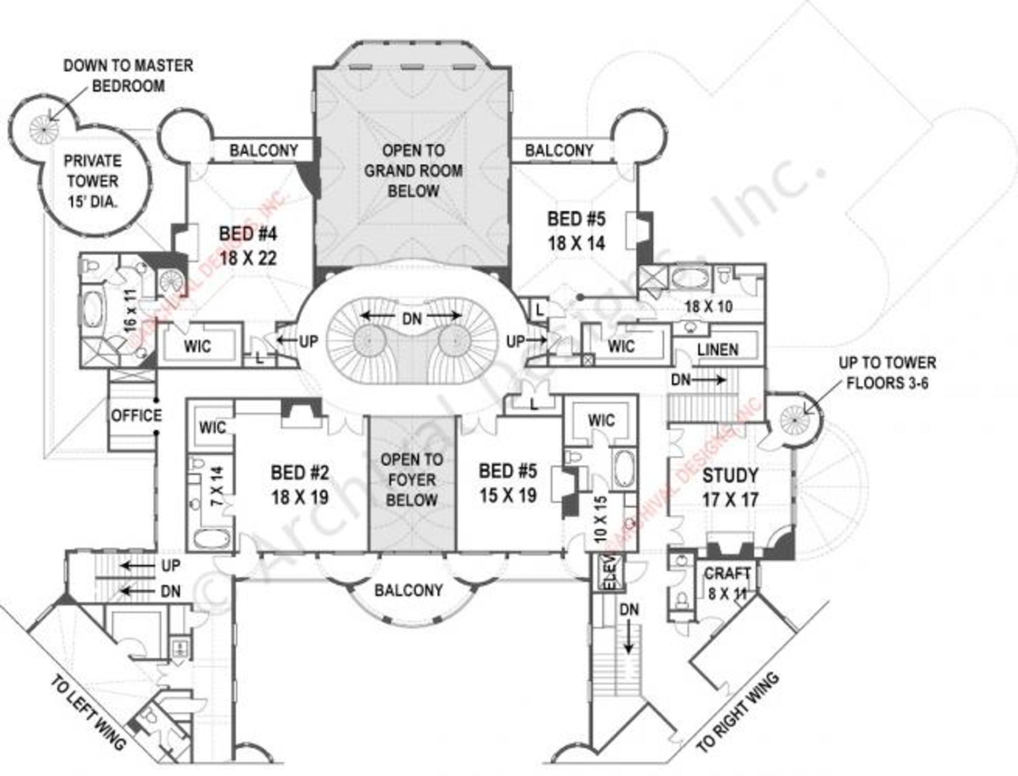 Balmoral House Plan Balmoral House House Plans Castle House Plans