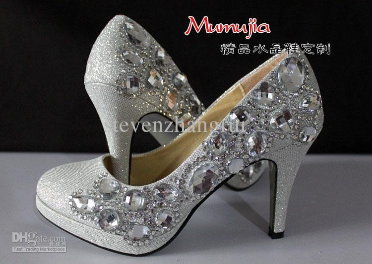 1000  images about silver evening shoes on Pinterest | Swarovski