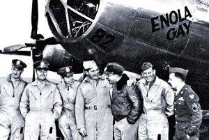Jovial crew of the Enola Gay