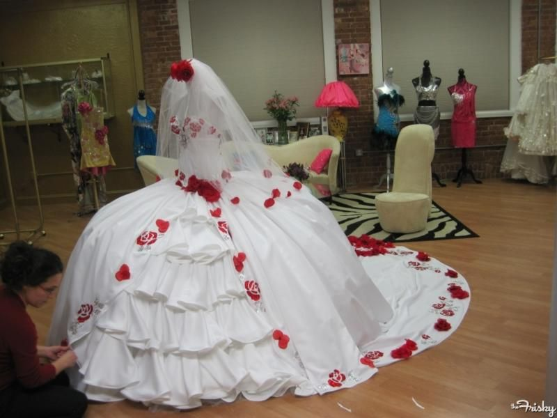 How much is a american gypsy wedding dress