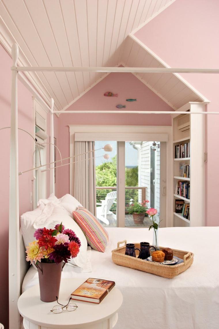 Chambre pour fille en style Shabby chic | Chambre à coucher ...